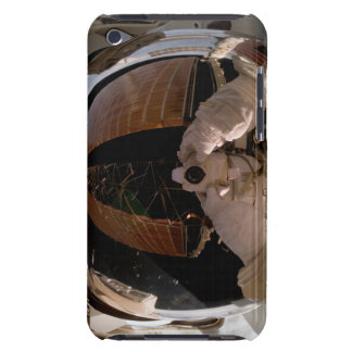 Astronaut uses a digital still camera iPod touch case