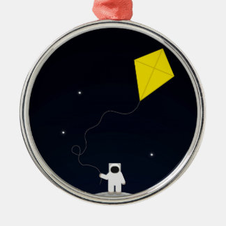 Astronaut with a Kite Christmas Ornament