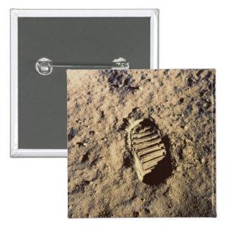 Astronaut's Footprint Buttons