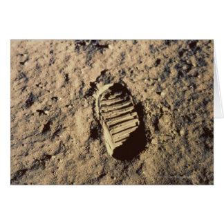 Astronaut's Footprint Greeting Card