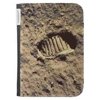 Astronaut's Footprint Kindle Folio Cases