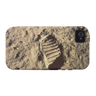 Astronaut's Footprint Vibe iPhone 4 Case