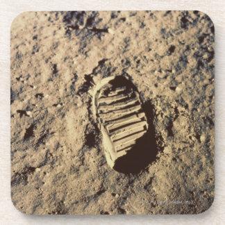 Astronaut's Footprint Drink Coaster