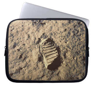 Astronaut's Footprint Laptop Computer Sleeve