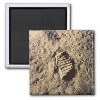 Astronaut's Footprint Magnet