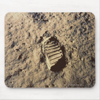 Astronaut's Footprint Mouse Pad