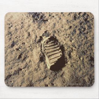 Astronaut's Footprint Mousepad