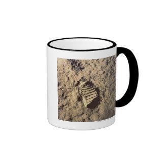 Astronaut's Footprint Mugs
