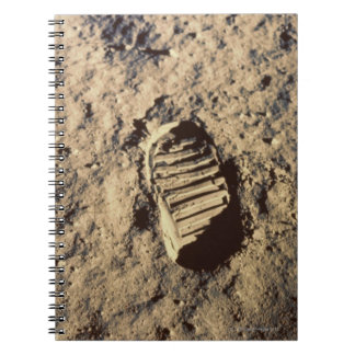 Astronaut's Footprint Note Books