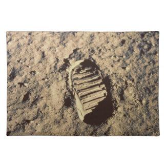 Astronaut's Footprint Place Mat