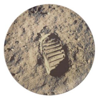 Astronaut's Footprint Plate