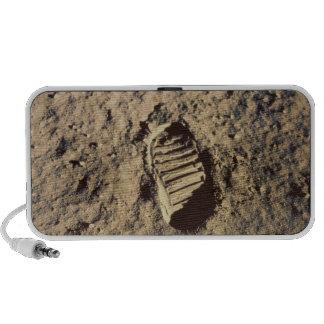Astronaut's Footprint Laptop Speaker