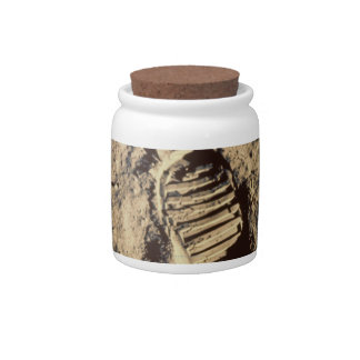 Astronaut's Footprint Candy Dish