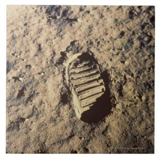 Astronaut's Footprint Tile