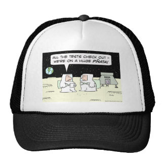 astronauts nasa moon pinata earth hat