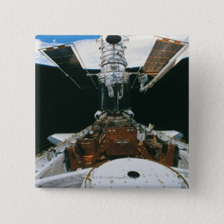 Astronauts of the Space Shuttle 15 Cm Square Badge