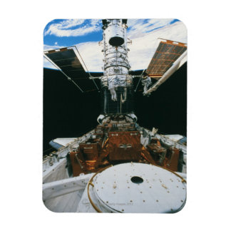 Astronauts of the Space Shuttle Rectangular Photo Magnet