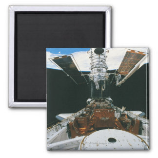 Astronauts of the Space Shuttle Square Magnet