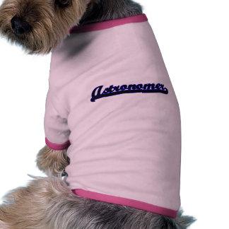 Astronomer Classic Job Design Doggie Tee