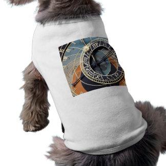 Astronomical Clock Sleeveless Dog Shirt