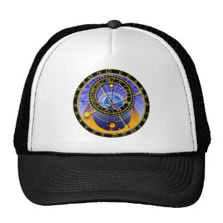 Astronomical Clock Hat Cap