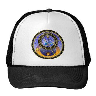 Astronomical Clock Hat Cap