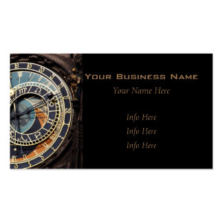 Astronomical Clock In Prague Pack Of Standard Business Cards
