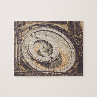 Astronomical Clock in Prague Czech Republic Puzzle