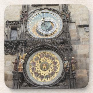 Astronomical Clock in Prague souvenir photo Coaster