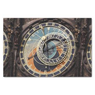 Astronomical Clock In Prague Tissue Paper