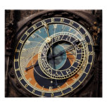 Astronomical Clock In Praque Posters