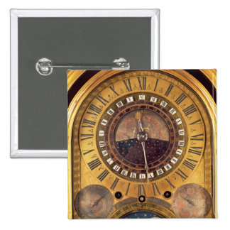 Astronomical clock made for the Grand Dauphin 15 Cm Square Badge