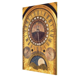 Astronomical clock made for the Grand Dauphin Canvas Print
