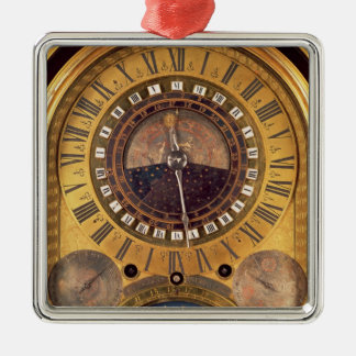 Astronomical clock made for the Grand Dauphin Christmas Ornament