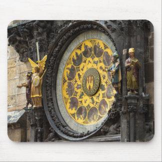 Astronomical Clock Mouse Mat