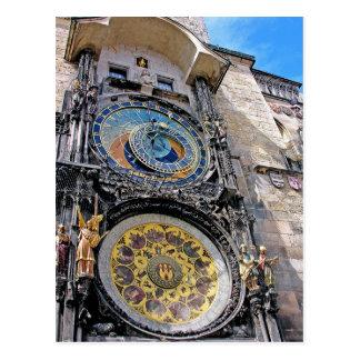 Astronomical Clock, Old Town, Prague(2) Postcard