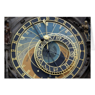 Astronomical Clock or Prague Orloj Card