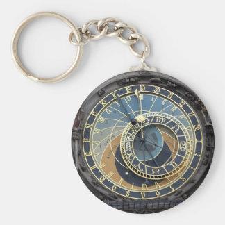 Astronomical Clock or Prague Orloj Key Chains