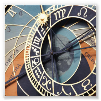 Astronomical Clock Photographic Print