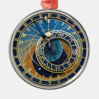 Astronomical Clock-Prague Orloj Christmas Ornament