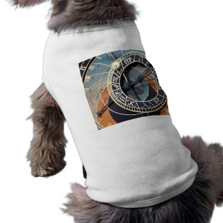 Astronomical Clock Sleeveless Dog Shirt