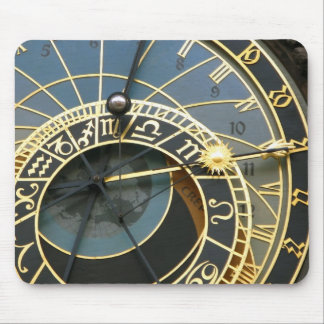 astronomical clocks mouse pad