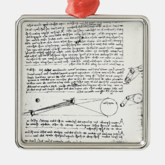 Astronomical diagrams christmas ornament