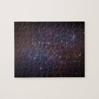 Astronomical scene. jigsaw puzzle