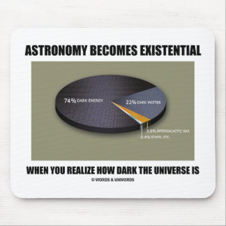 Astronomy Becomes Existential When Realize Dark Mouse Pads