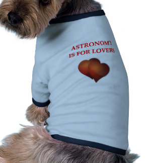astronomy pet clothing