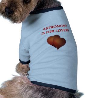 astronomy pet clothing