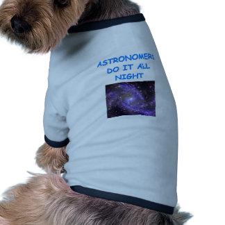 ASTRONOMY DOG SHIRT