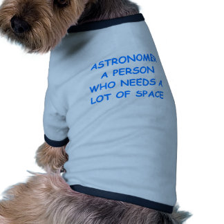 astronomy pet clothes