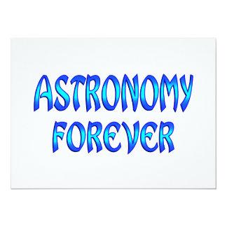 Astronomy Forever 14 Cm X 19 Cm Invitation Card